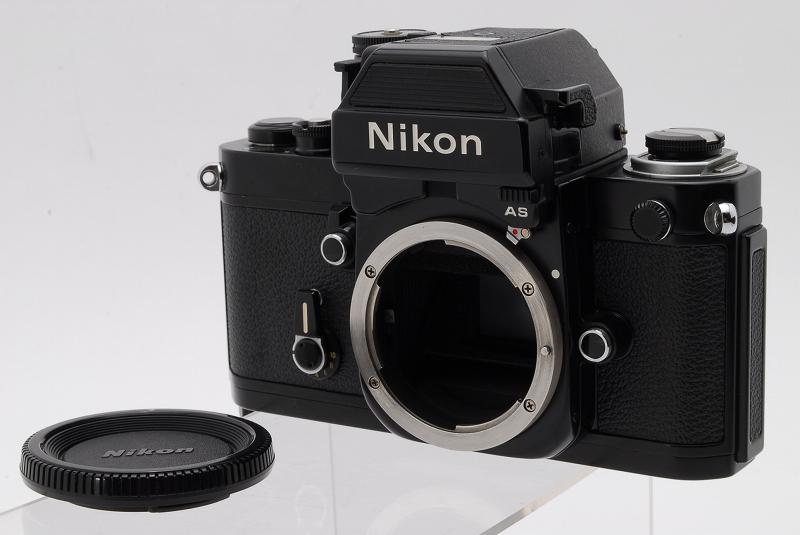 極上美品 完動品 ニコン Nikon F2 AS ブラック + MF-3 #404