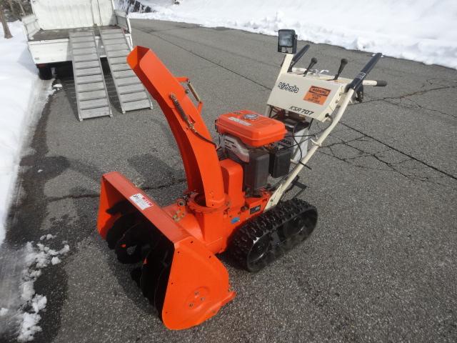 美品 セル付き クボタ KSR707 クローラOK! エンジン好調 岐阜県 このまま使えます 実働中古除雪機です