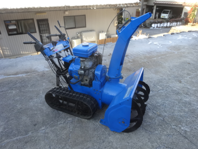 セル付き ヤマハ YT875 実働 8馬力 中古除雪機 クローラーOK バッテリー新品 岐阜県