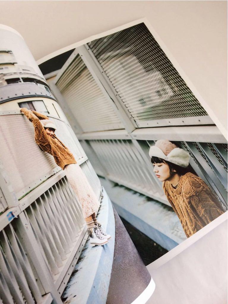 RUDI(ルディー) 2(双葉社スーパームック)2015年◎小松菜奈 宮本彩菜 小谷実由 本 雑誌 ライフスタイル ベーシック シンプル 服_画像4