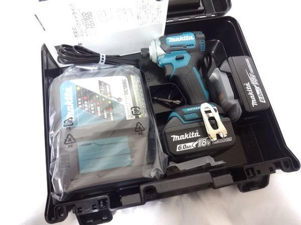 マキタ 充電式インパクトドライバ TD170DRGX 6.0Ah 18V 新品未使用