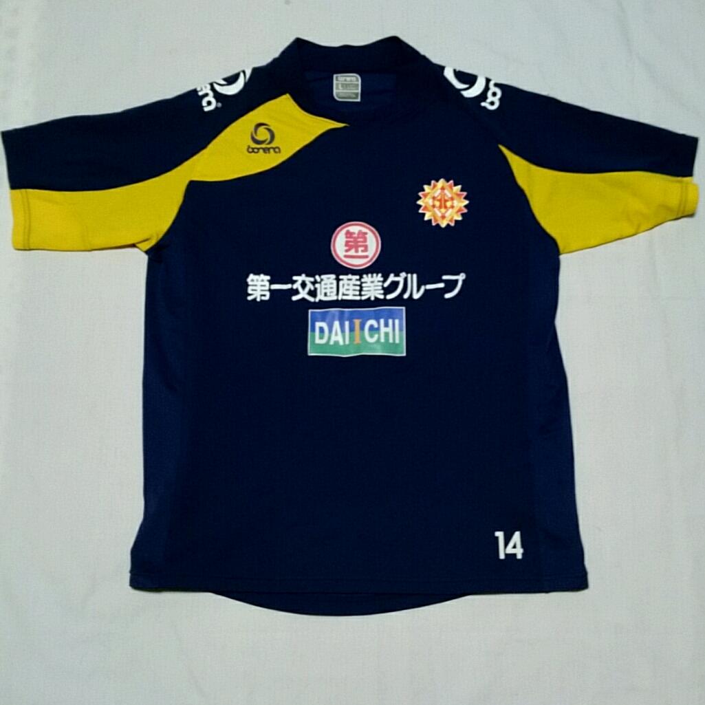 【支給】支給 実使用 ギラヴァンツ北九州 トレーニングシャツ 練習着