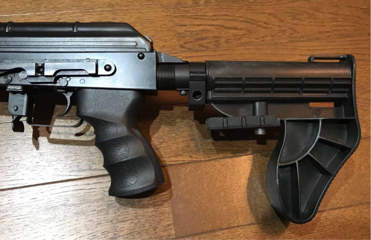 SOPMOD AK104 実物 SUREFIRE M83 & 実物 ストックカスタム電動ガン_画像6