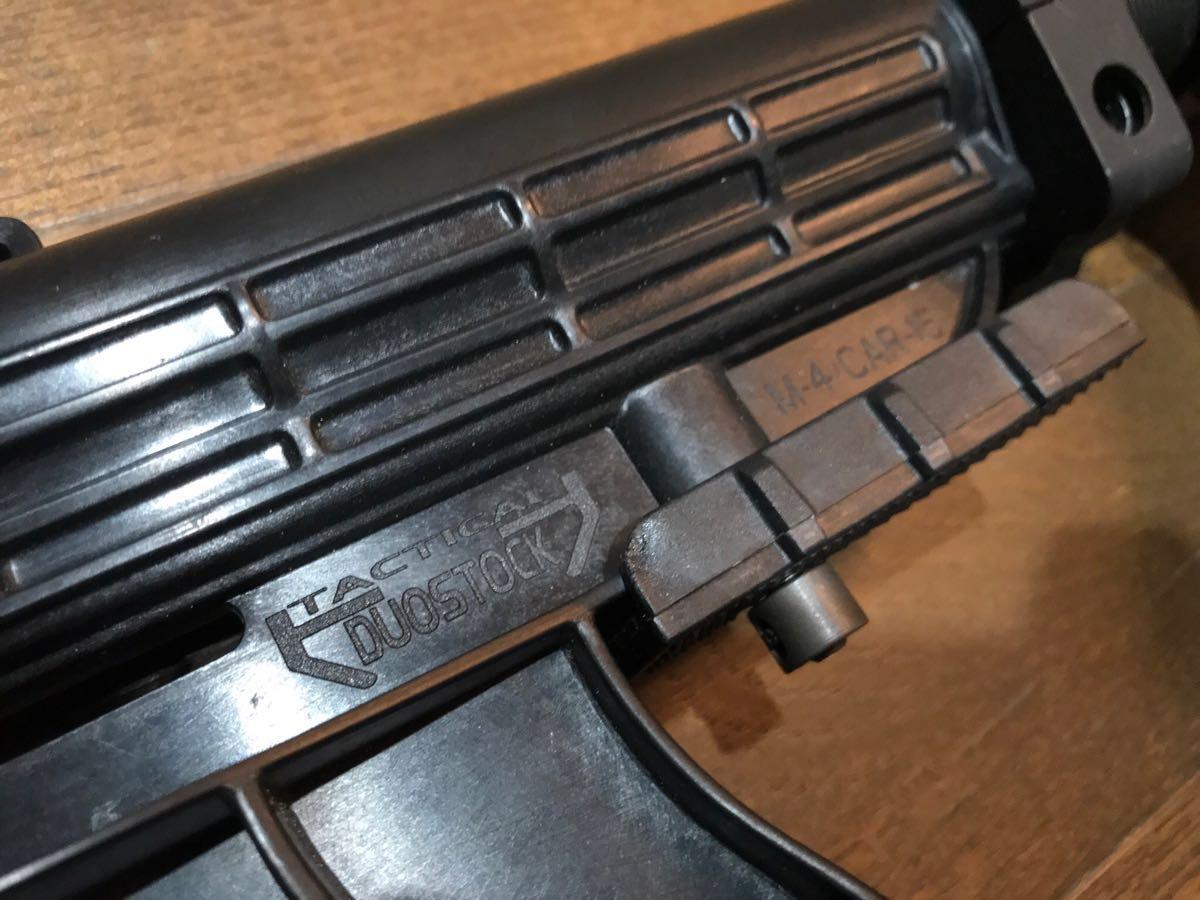 SOPMOD AK104 実物 SUREFIRE M83 & 実物 ストックカスタム電動ガン_画像2