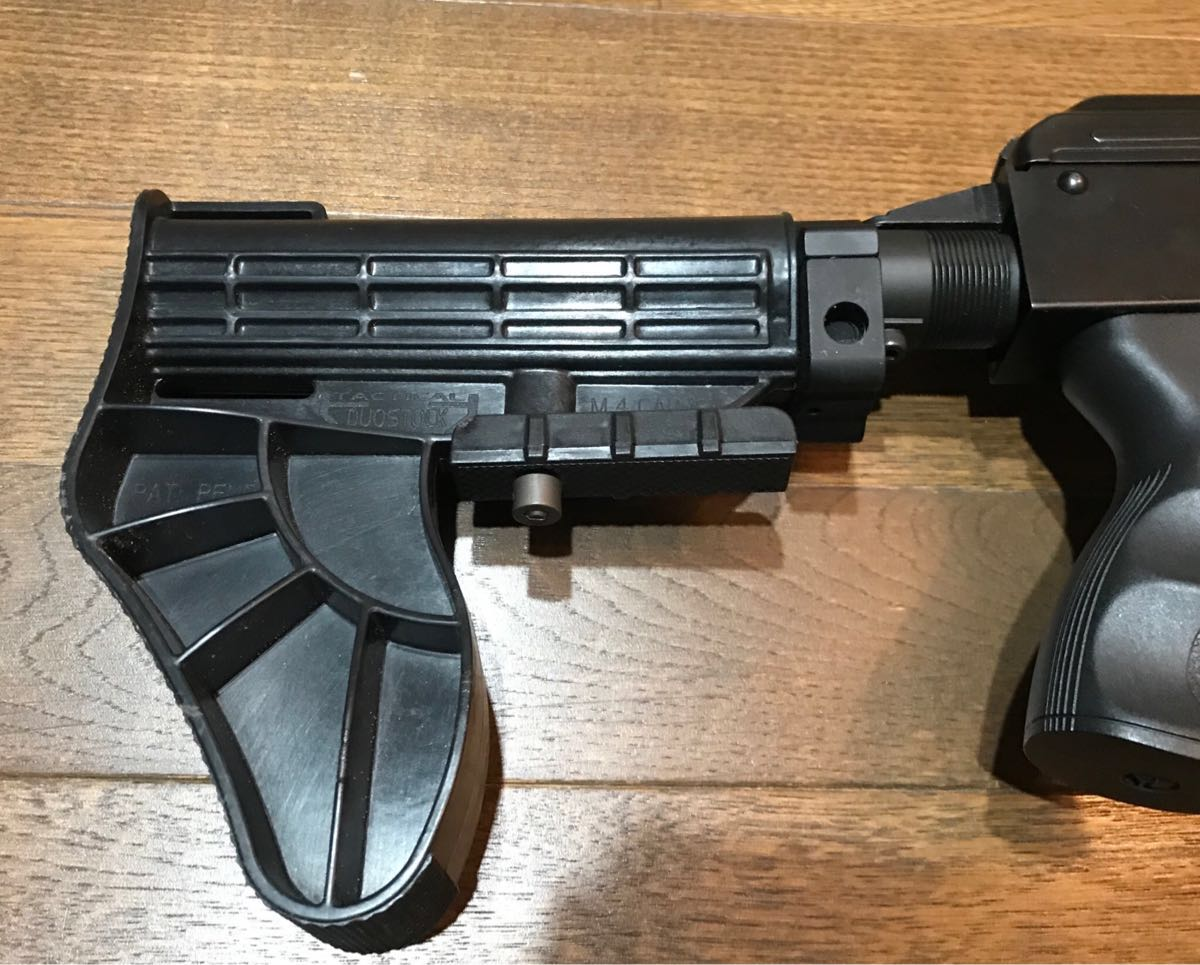 SOPMOD AK104 実物 SUREFIRE M83 & 実物 ストックカスタム電動ガン_画像5