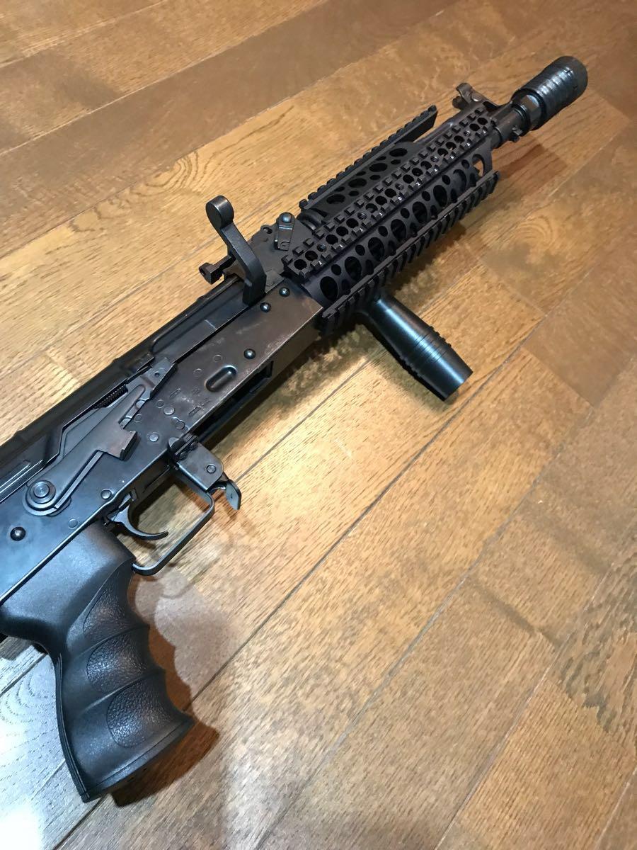 SOPMOD AK104 実物 SUREFIRE M83 & 実物 ストックカスタム電動ガン_画像3