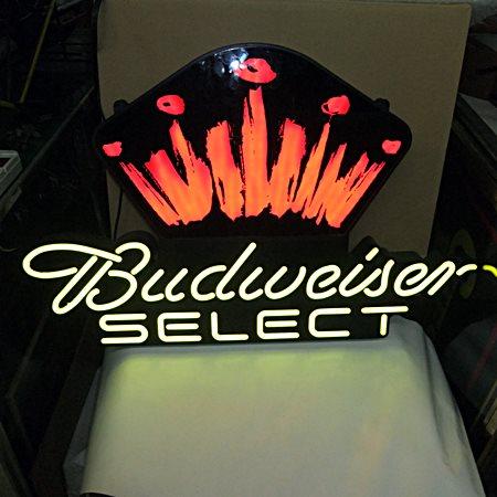 【アメリカ雑貨】 送料無料 LEDネオン Budweiser SELECT バドワイザー / ネオン