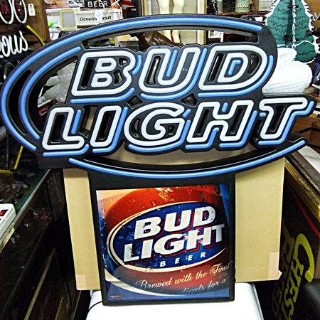 【アメリカ雑貨】 送料無料 LEDネオン BUD LIGHT / バド ライト / Budweiser バドワイザー / ネオン / 看板_画像2