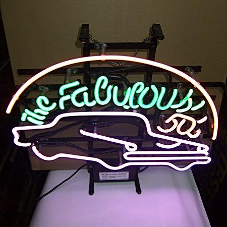【アメリカ雑貨】送料無料 ネオン The Fabulous 50s' / アメリカン クラシックカー / 看板