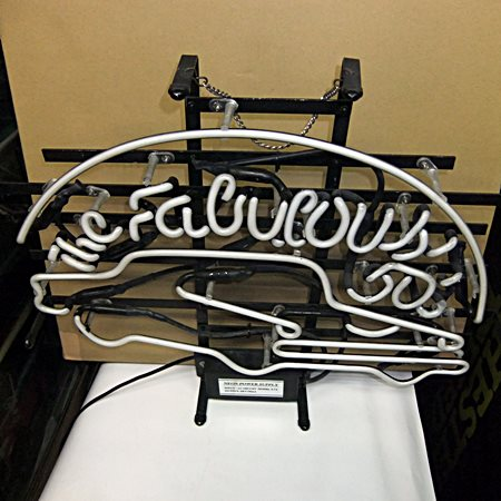 【アメリカ雑貨】送料無料 ネオン The Fabulous 50s' / アメリカン クラシックカー / 看板_画像2