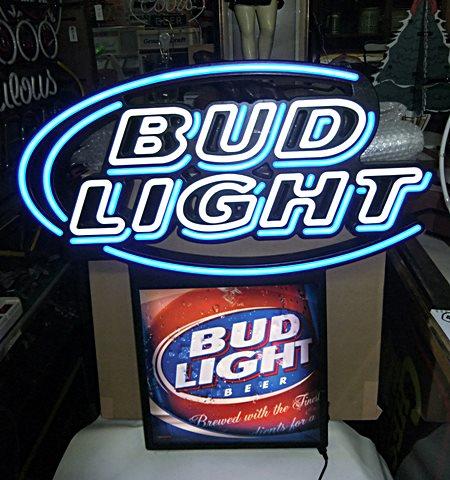 【アメリカ雑貨】 送料無料 LEDネオン BUD LIGHT / バド ライト / Budweiser バドワイザー / ネオン / 看板