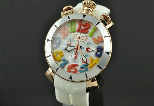 超人気GaGa MILANO ガガミラノ48mm メンズ腕時計