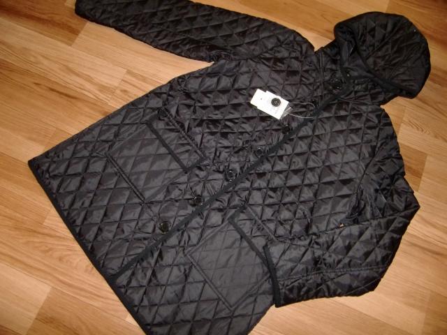 新品 中綿キルトコート LL ブラック レディース 中綿コート キルトジャケット キルティングジャケット キルティングコート ダウンコート