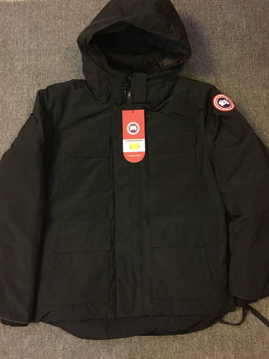 即発!送料込! 大人気! CANADA GOOSE (カナダグース) MAITLAND PARKA ダウンジャケット ブラック Mサイズ