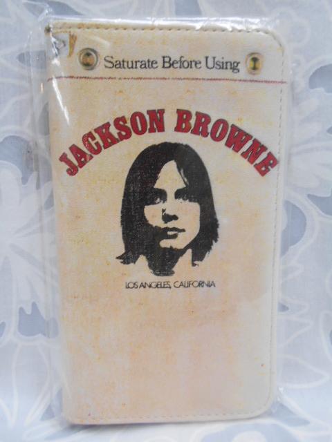 ◆ スマホケース ジャクソン・ブラウン / JACKSON BROWNE ◆☆ Saturate Before Using ☆ 未使用