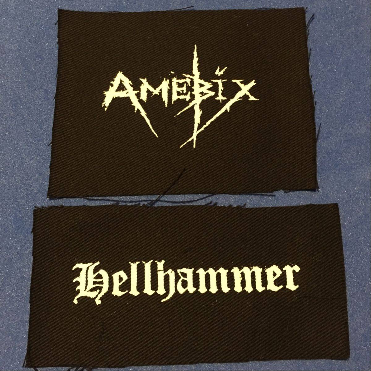 amebix hellhammer パッチセット punk metal パンク メタル