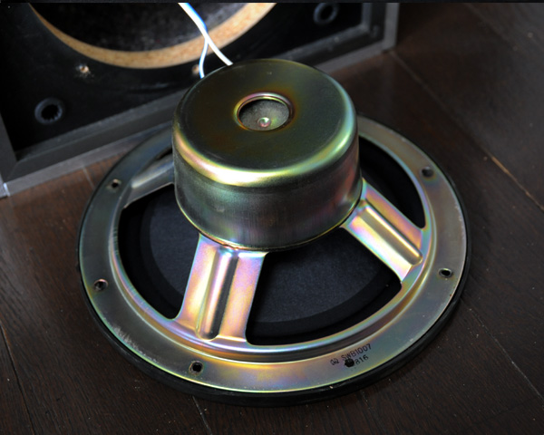 ■マニアックな重量級アルミボックス 自作2Weyスピーカーシステム■二個一組、完動品です_画像7