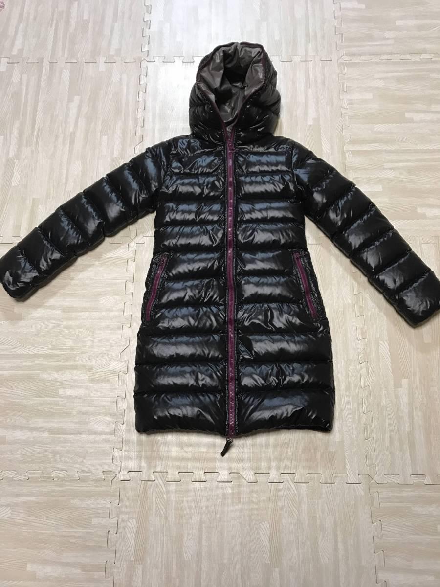 デュベティカ★黒×ピンクダウン、38サイズ、美品!★カナダグース、モンクレール好きに