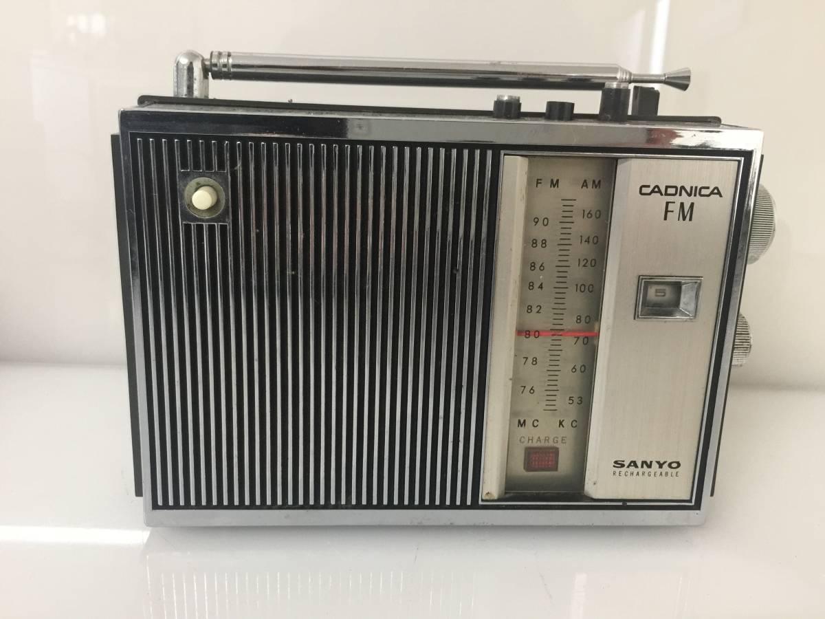 ★ SANYO 11F-B20 ラジオ ケース付 FM/AM受信OK ★_画像2
