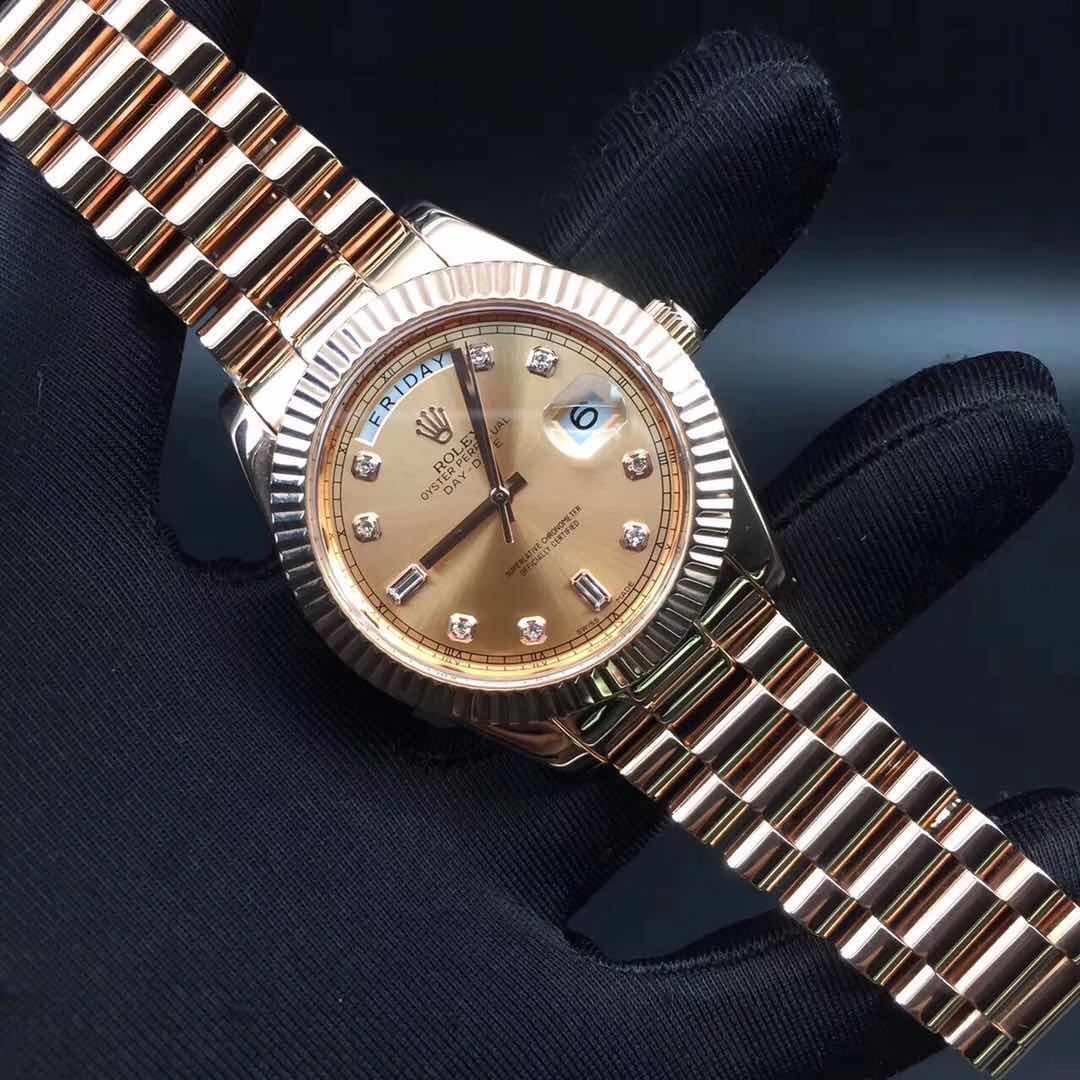 ROLEX(ロレックス) 時計 メンズ 自動巻き k18 腕時計 2836 デイトジャスト ゴールド 美品