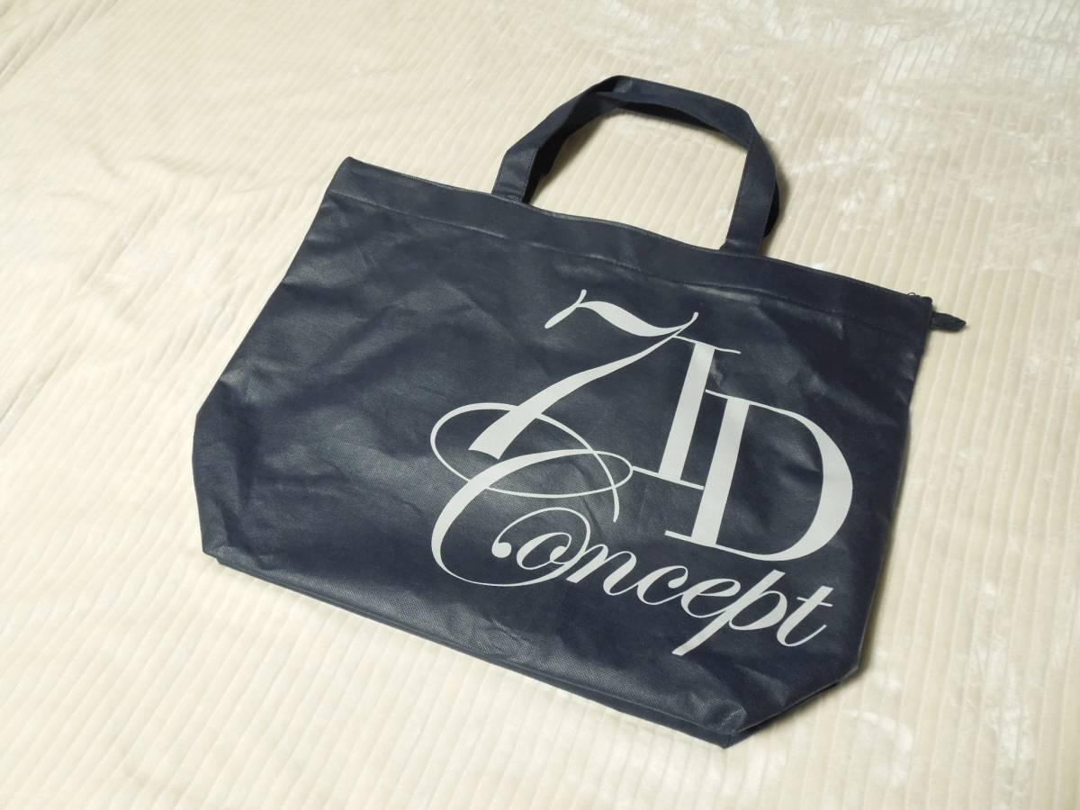 新品 7IDコンセプト 福袋 袋のみです! トートバック バッグ 鞄エコバッグ_色はネイビーです。