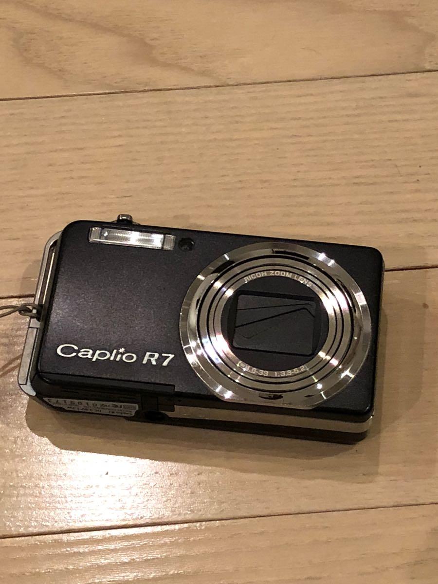 格安1円スタート RICOH リコー R7 caplio カプリオ R7