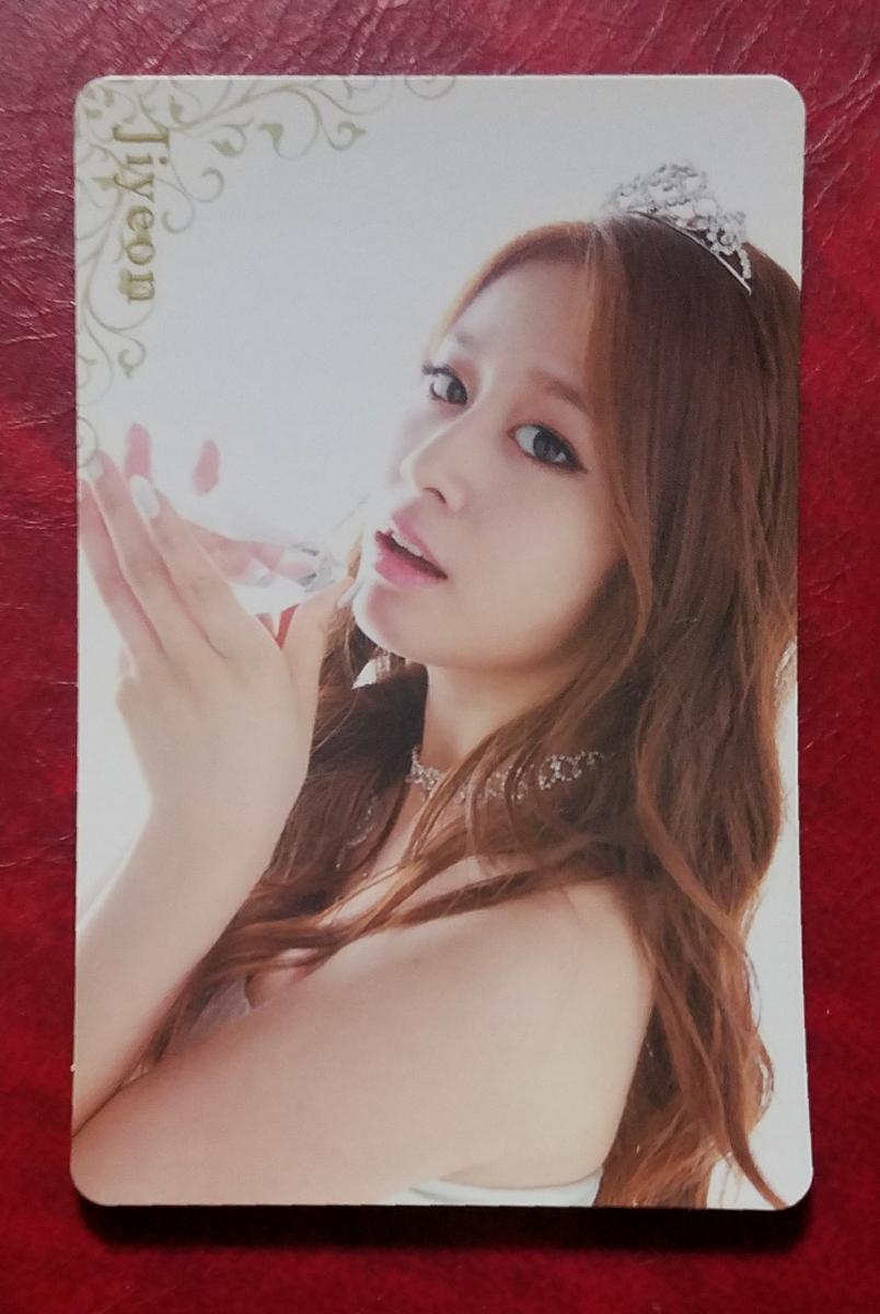 T-ARA ジヨン Jewelry Box トレカ 即決 Jiyeon ティアラ 日本盤 トレーディングカード