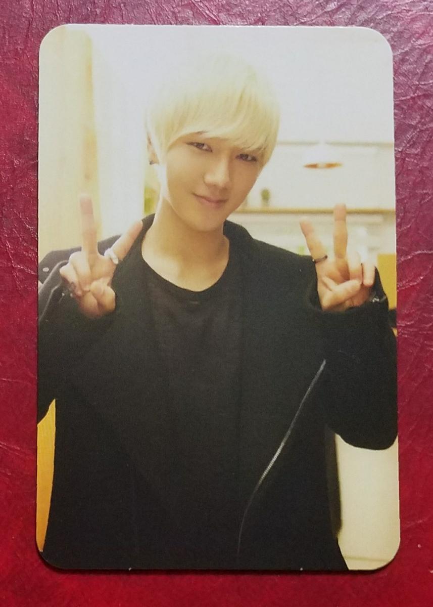 Super Junior-K.R.Y. イェソン Promise You トレカ Yesung 日本盤 即決 トレーディングカード スーパージュニア