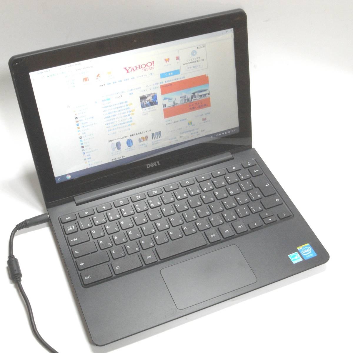 DELL Chromebook 11 CB1C13 メモリ2GB Chrome OS搭載の11.6型ノートPC