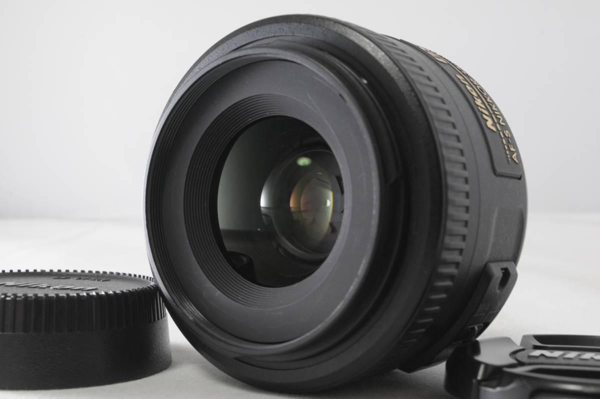 ★明るい!ボケ味に!元箱付き★Nikon ニコン AF-S DX NIKKOR 35mm F1.8G M284259-1