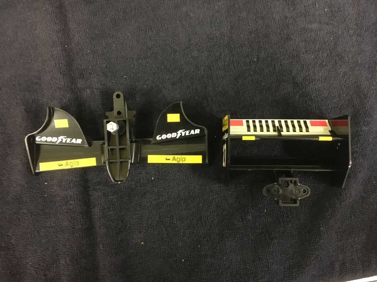 1/10 F1 フェラーリ ボディ 前後ウイングつき 412T1 ジャンク扱い_画像5
