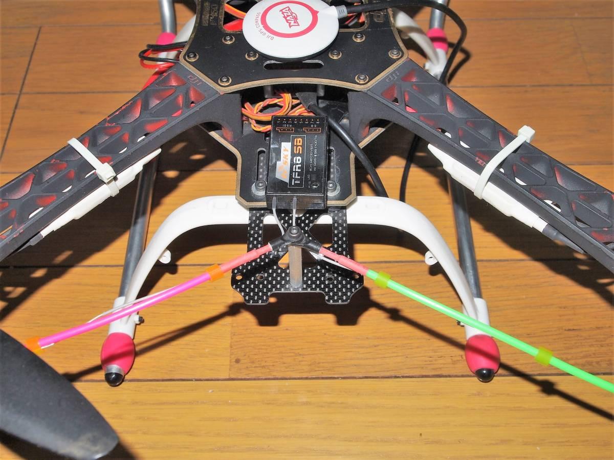 dji f450 Flame wheel NAZA GPS Compass 付 マルチヘリ ドローン ジャンク_画像3