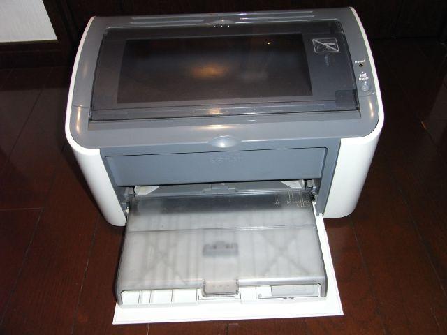 CANON LBP3000 モノクロA4レーザープリンター 中古_画像2