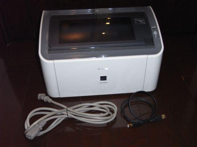 CANON LBP3000 モノクロA4レーザープリンター 中古