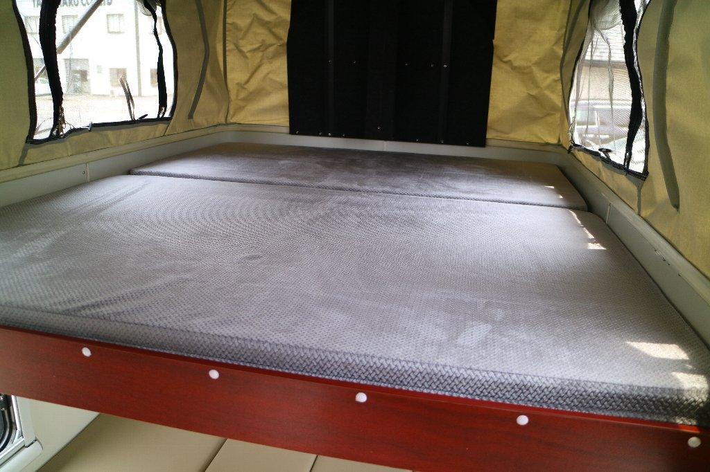 MINI MAX 軽トラック キャンパー ボックス 着脱可能 キャンピングカー キャンプ アウトドア 軽キャンパー_画像6