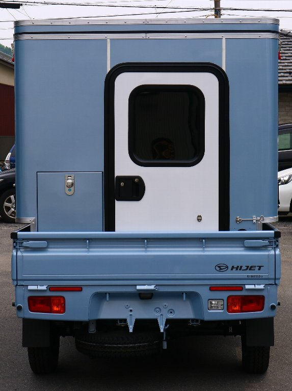 MINI MAX 軽トラック キャンパー ボックス 着脱可能 キャンピングカー キャンプ アウトドア 軽キャンパー_画像3