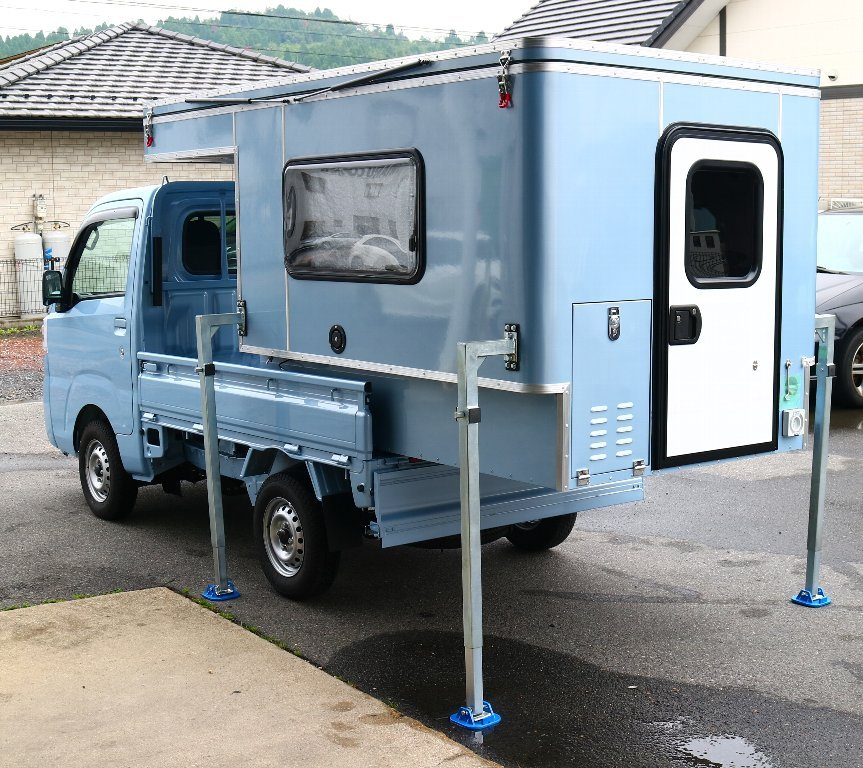 MINI MAX 軽トラック キャンパー ボックス 着脱可能 キャンピングカー キャンプ アウトドア 軽キャンパー_画像10