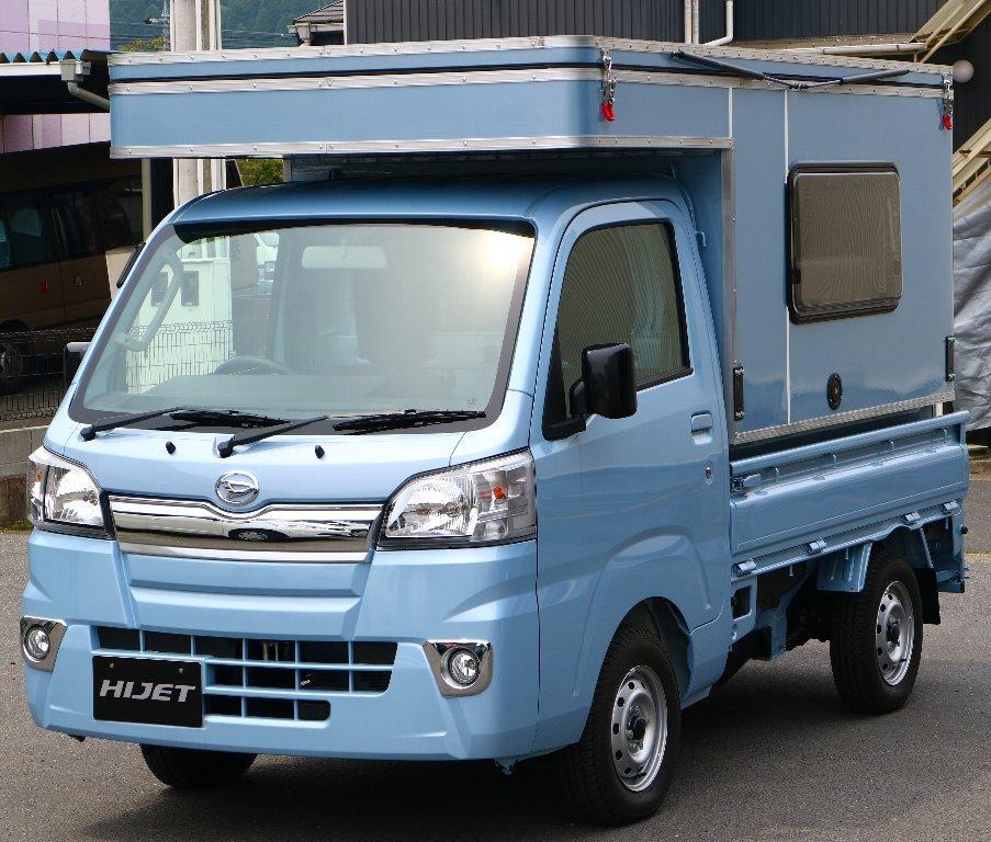 MINI MAX 軽トラック キャンパー ボックス 着脱可能 キャンピングカー キャンプ アウトドア 軽キャンパー_画像1