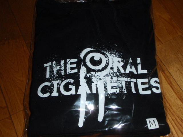 the oral cigarettes オーラルシガレッツ パーカー M オーラル 目立ちたがりグランジロゴパーカー