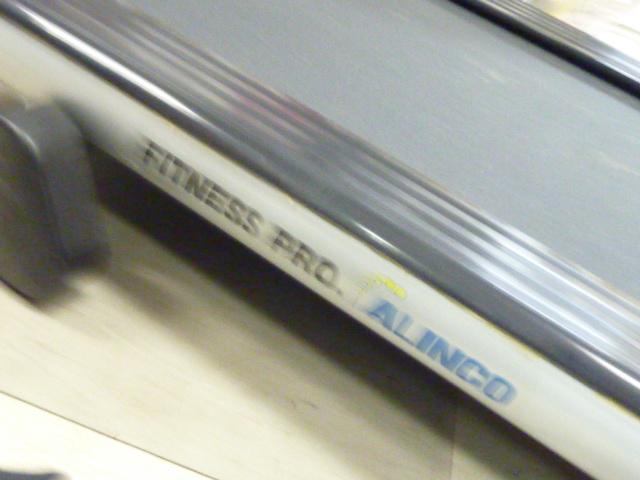 a784 ALINCO FITNESS PRO 電動ウォーカー ランニングマシン 動作品_画像9