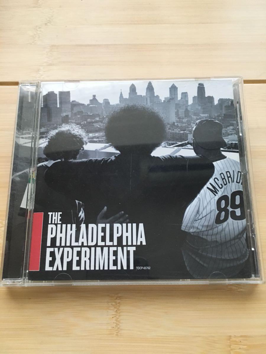 THE PHILADELPHIA EXPERIMENT フィラデルフィア・エクスプリメント ahmir thompson christian mcbride jazz funk soul hip hop