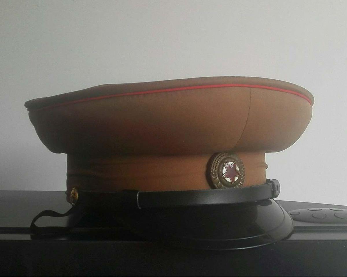 平昌五輪 未使用 北朝鮮人民軍陸軍将校帽 北朝鮮軍軍服制帽_画像1