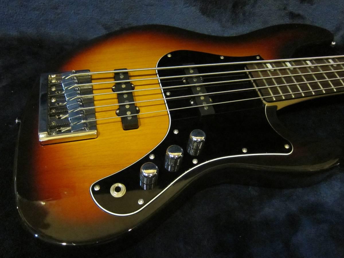 即決☆FgN(Fujigen) Expert Mighty Jazz EMJ5-AL-R☆国内最高峰の5弦モデル♪美品!_画像2