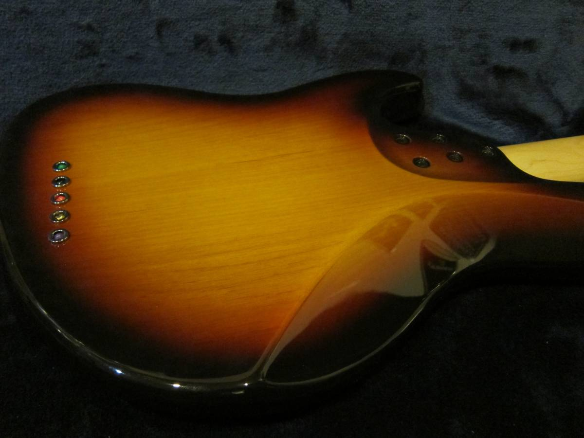 即決☆FgN(Fujigen) Expert Mighty Jazz EMJ5-AL-R☆国内最高峰の5弦モデル♪美品!_画像3