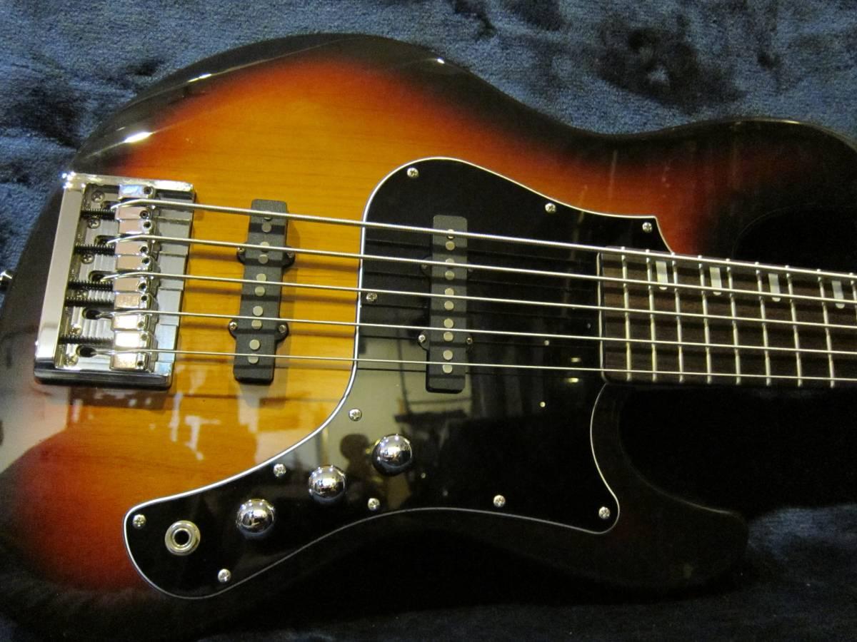 即決☆FgN(Fujigen) Expert Mighty Jazz EMJ5-AL-R☆国内最高峰の5弦モデル♪美品!_画像4