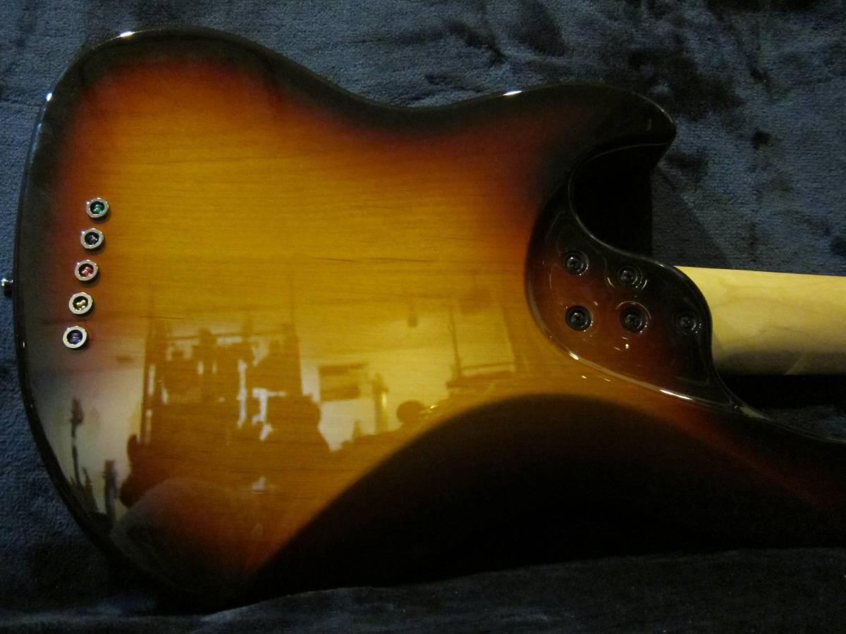 即決☆FgN(Fujigen) Expert Mighty Jazz EMJ5-AL-R☆国内最高峰の5弦モデル♪美品!_画像5