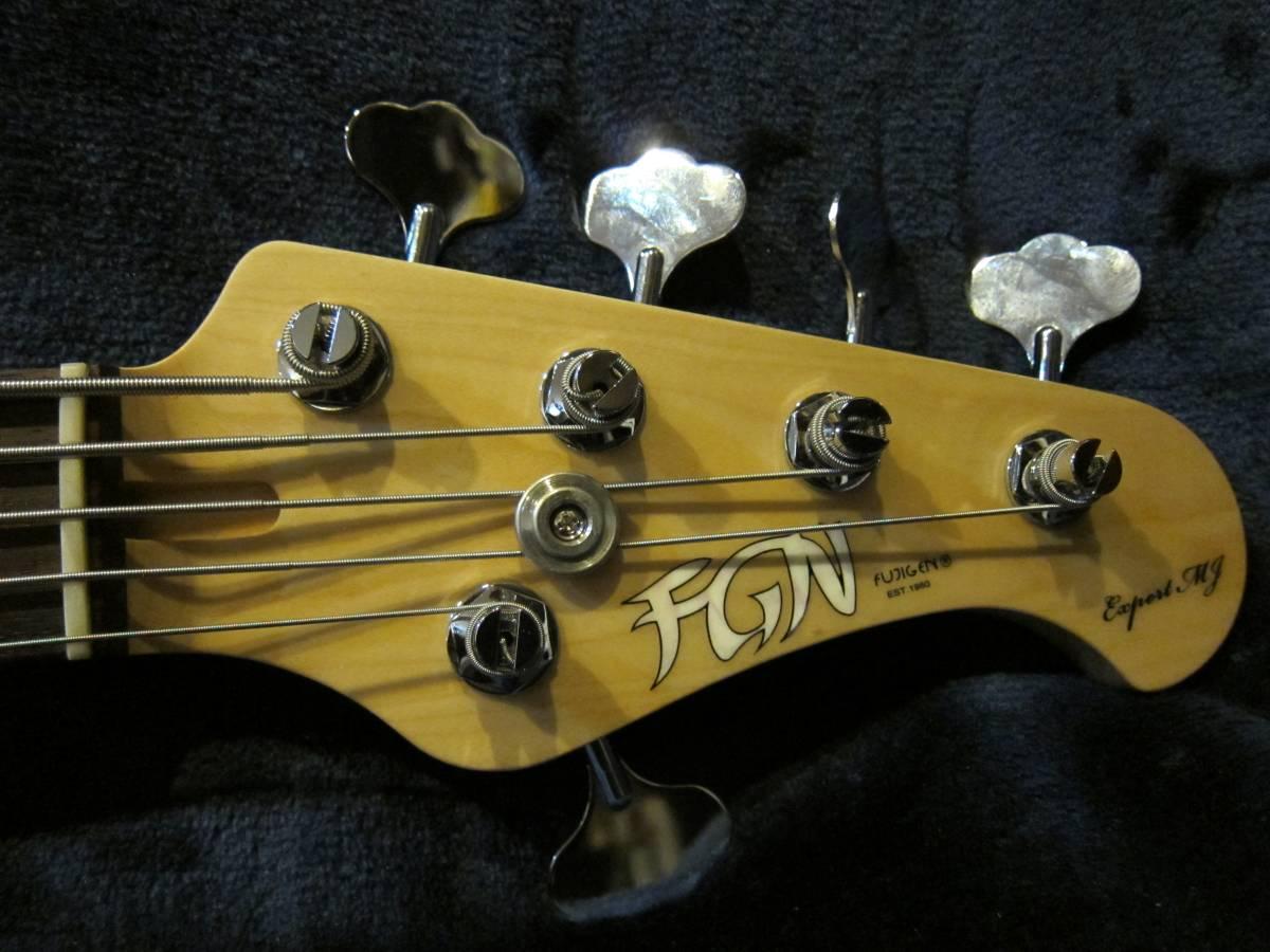 即決☆FgN(Fujigen) Expert Mighty Jazz EMJ5-AL-R☆国内最高峰の5弦モデル♪美品!_画像8