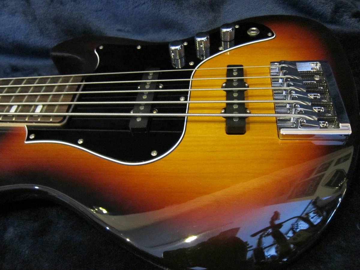 即決☆FgN(Fujigen) Expert Mighty Jazz EMJ5-AL-R☆国内最高峰の5弦モデル♪美品!_画像9