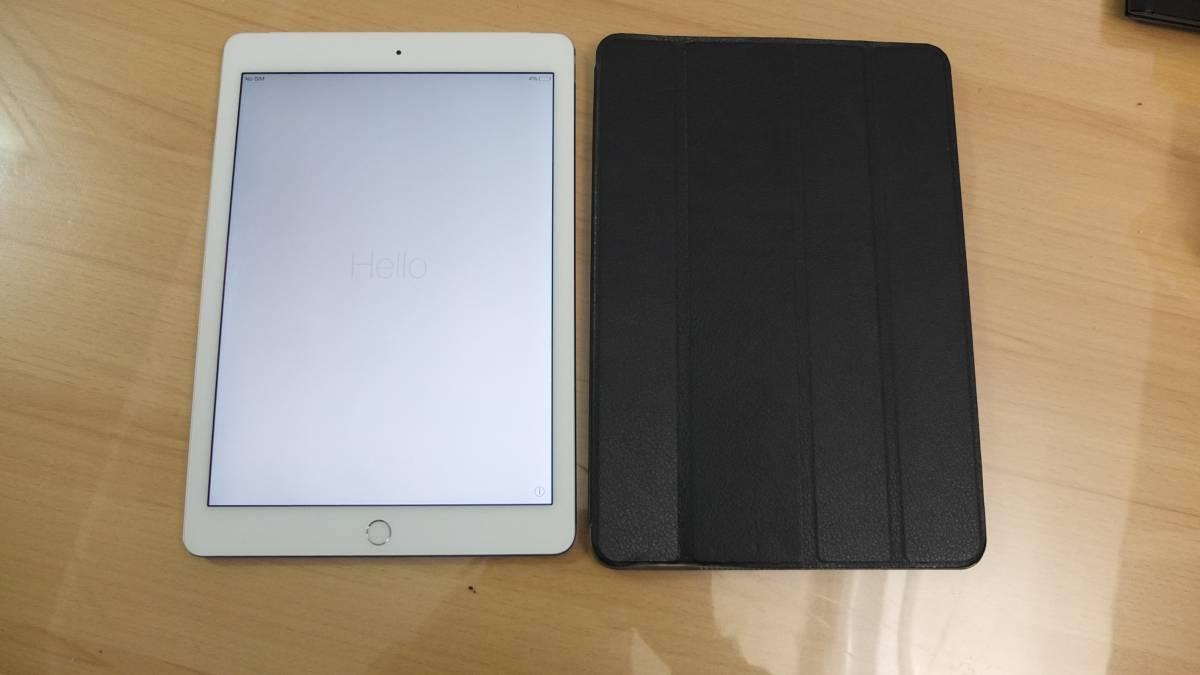 iPad Air 2 Wi-Fi + Cellular 16GB DoCoMo MGH72J/A 16GB シルバー 1円~
