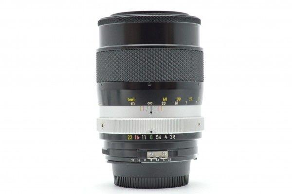 ◆ Nikon ニコン Ai改 NIKKOR-Q Auto 135mm F2.8 単焦点 中望遠レンズ Fマウント オールドレンズ 一眼レフ用 送料無料